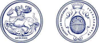 Composition of coats of arms of the Abbazia di Pero - Ninni Riva