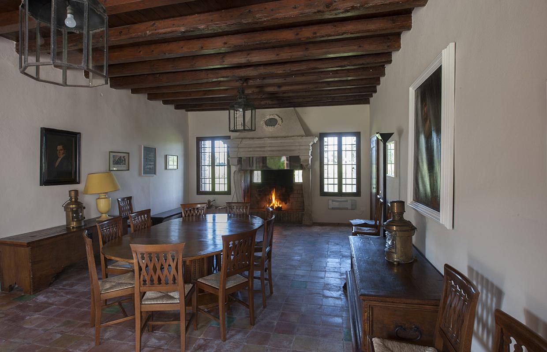 Sala del Camino, Abbazia di Santa Maria di Pero - Ninni Riva.
