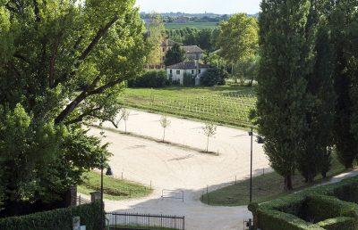 Private South parking site (120 places) Abbey of Santa Maria di Pero - Ninni Riva