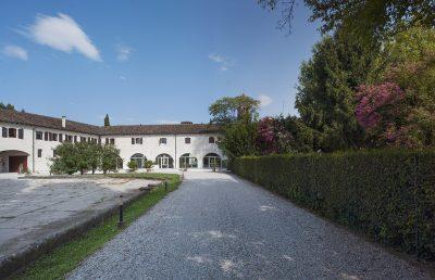 """Private parking site """"Sese"""" Abbey of Santa Maria di Pero-Ninni Riva"""