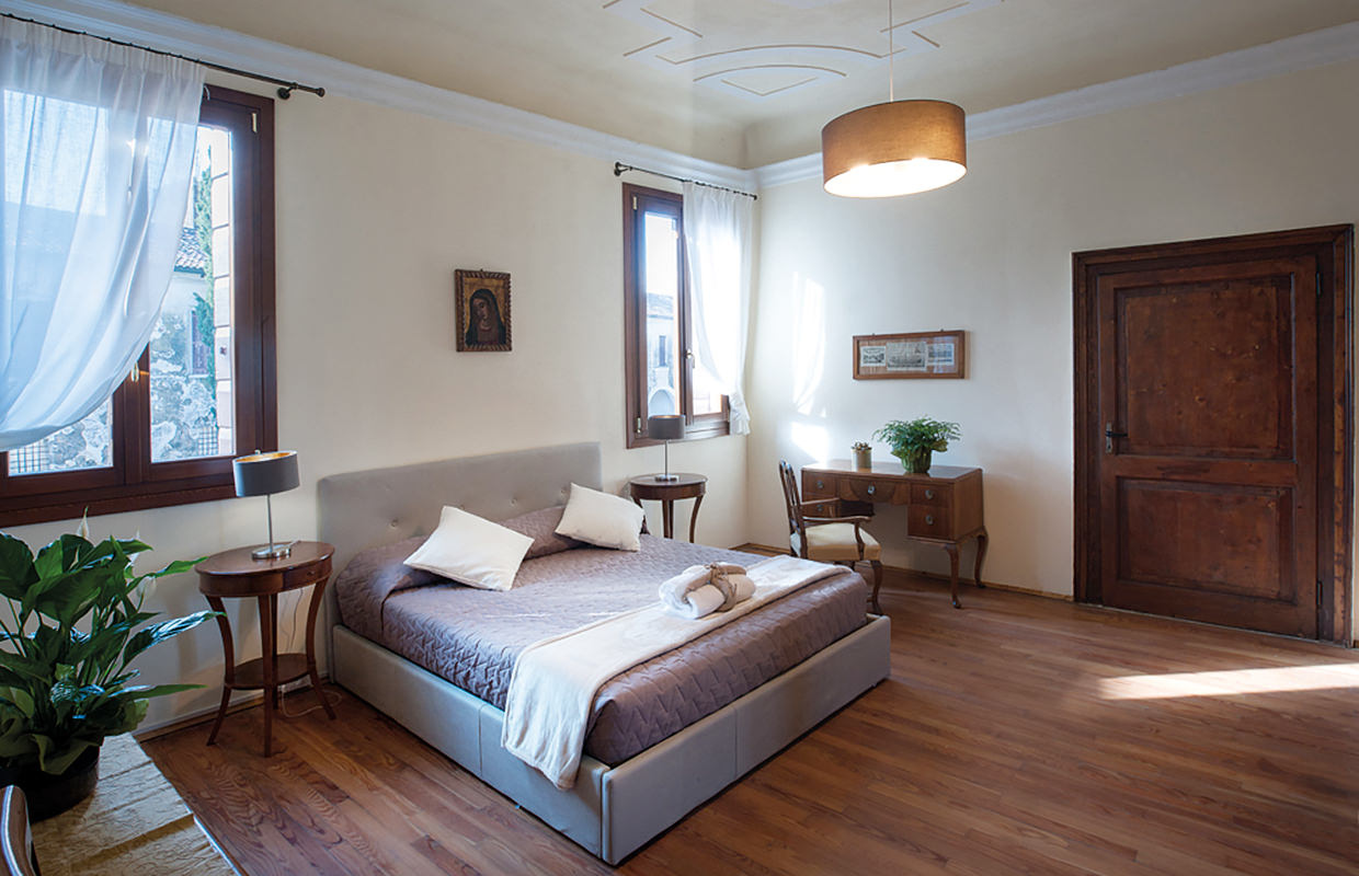"""Apartment """"La Foresteria"""" (living area, double room and services)."""
