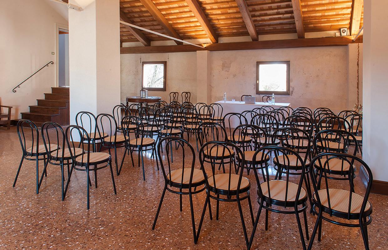 Sala di San Giorgio (per conferenze, 70 posti).